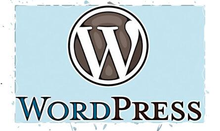 word press векторный стиль